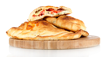 View & Build Your Own Calzones